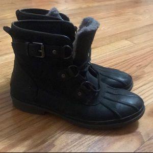 Black UGG boots!